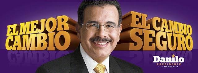 Danilo Medina 50% e Hipólito Mejía 44%, según Benenson Strategy Group