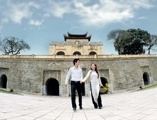 Hoàng thành Thăng Long - Địa điểm chụp ảnh đẹp ở Hà Nội