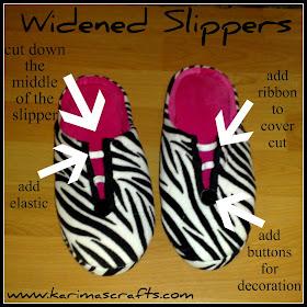 widen slippers tutorial