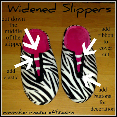 widen slippers tutorial