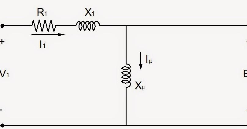 ingenier u00eda el u00e9ctrica  circuito equivalente monof u00e1sico del