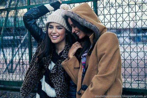 Moda juvenil otoño invierno 2014 Argentina.