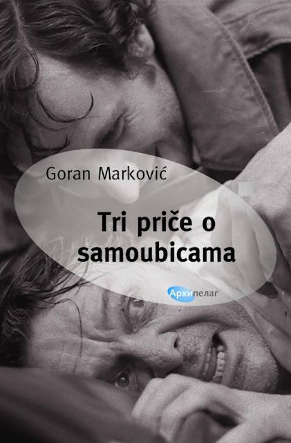 """Promocija knjige Gorana Markovica """"Tri price o samoubicama"""""""