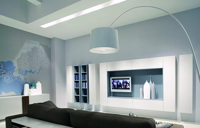 Furniture Interior Design: Compositions by modern horizontal design