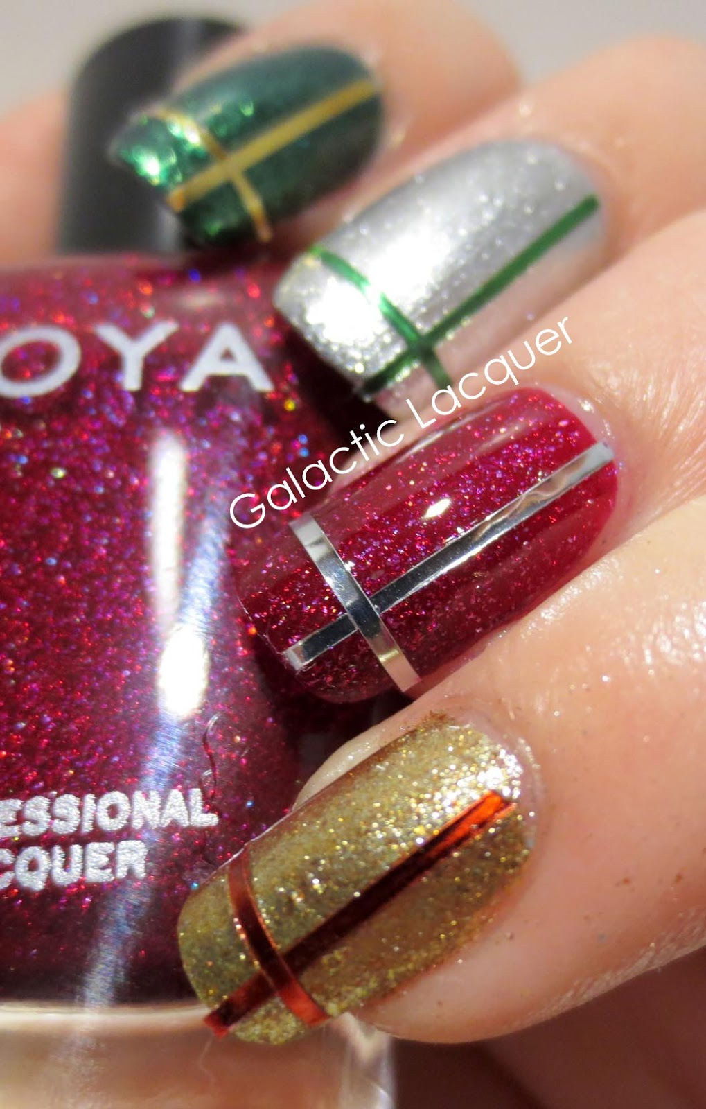 Galactic Lacquer 12 Days Of Christmas Gifts Presents