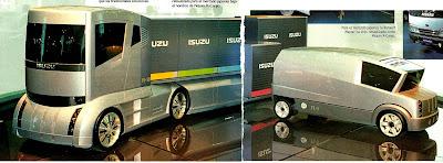 Isuzu FL-1 FL-10 camión trucks