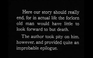 The Last Laugh 1924 intertitle
