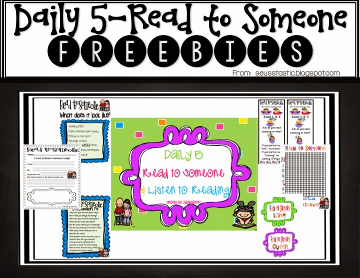 http://www.teacherspayteachers.com/Product/Daily-5-Read-to-Someone-Listen-to-Reading-Packet-FREEBIE-279320