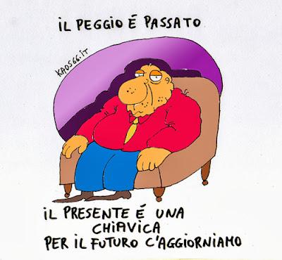 vignetta: il presente è una chiavica