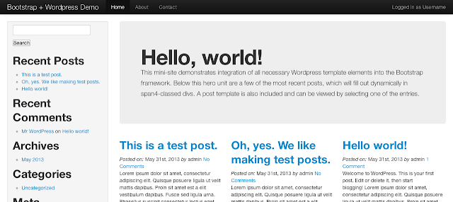 How to Create a WordPress Theme with Twitter Bootstrap