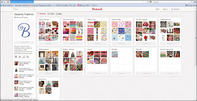 Beverly's Pinterest Page