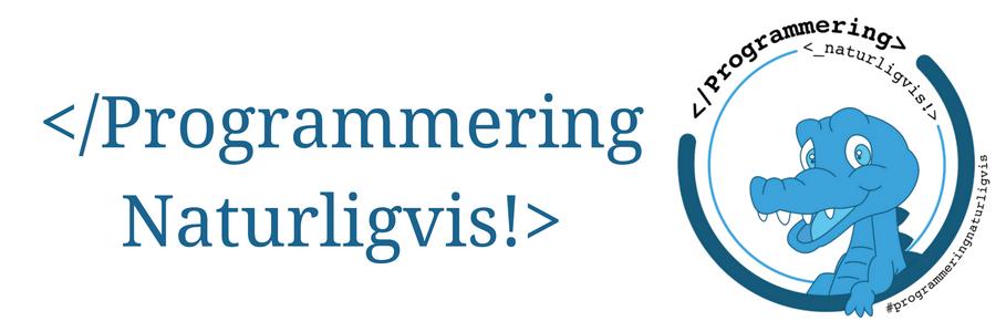 Programmering naturligvis