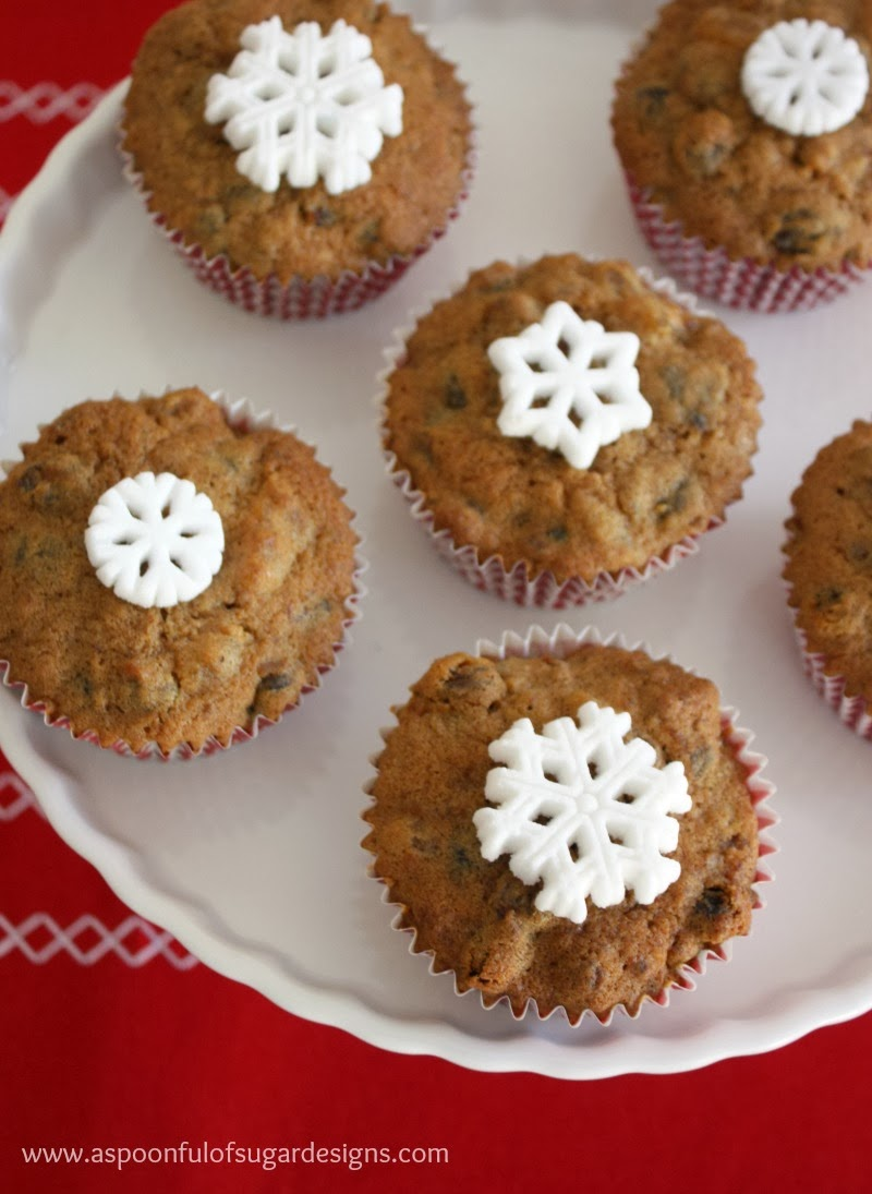 Mini Fruit Cakes - A Spoonful of Sugar