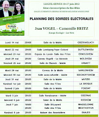 SOIREES ELECTORALES 1er tour