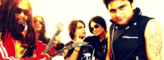 Punkh: hard rock / metal quintet from New Delhi, IN