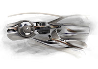 2013 BMW 3-Series (F30) Development Drawing Interior