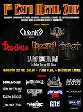 EXPO METAL ZINE 22 de Julio en Lima