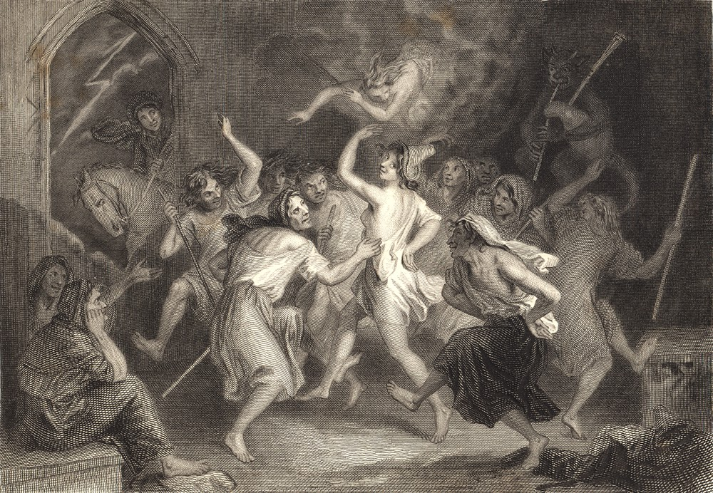 The Witches Dance in Tam o' Shanter, by J.M. Wright