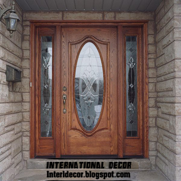 Door Design And Colour Of Classic Wood Doors Designs Colors Wood Doors With Glass