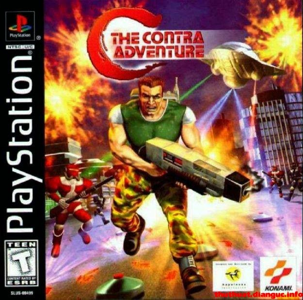 Game contra advanture