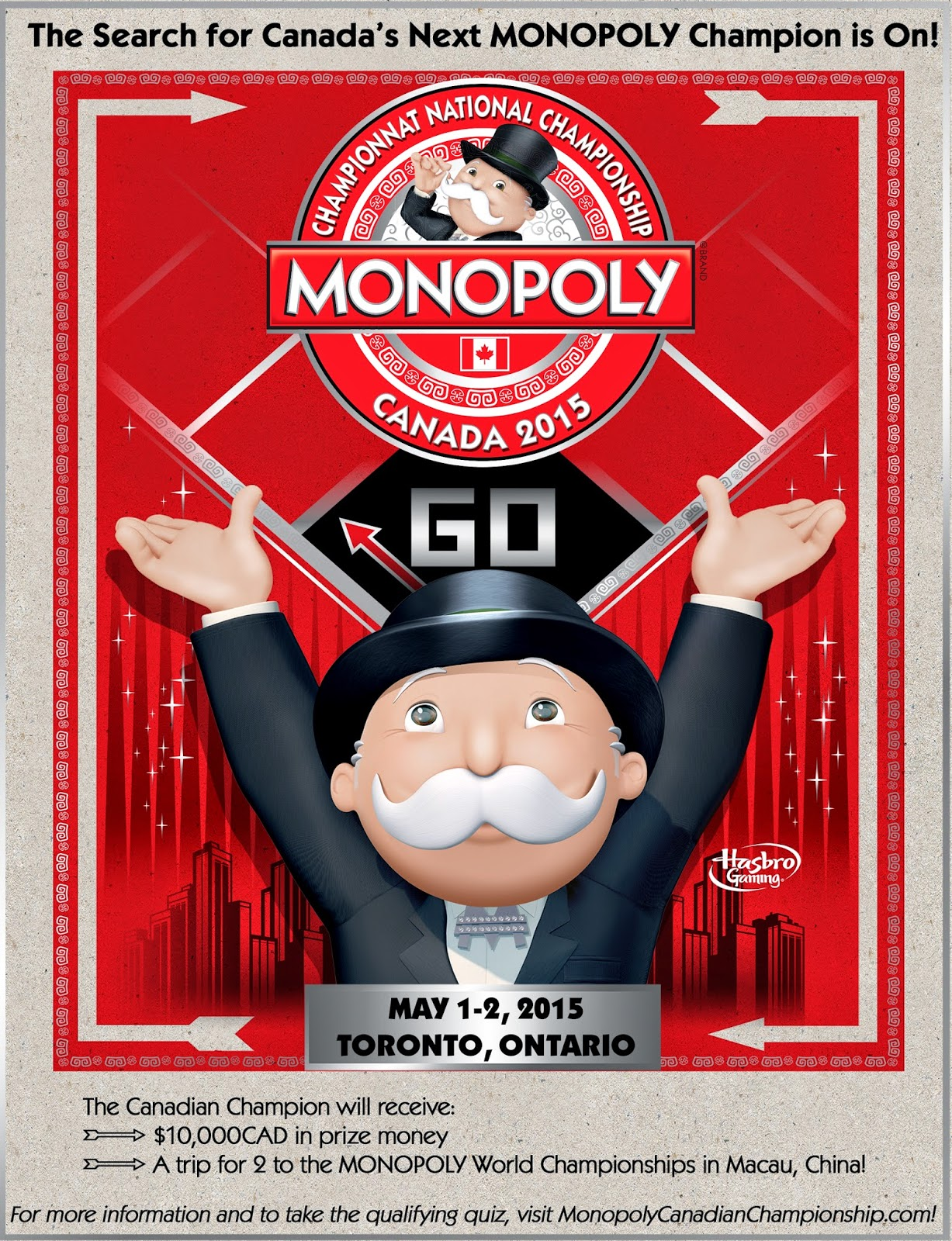 Monopoly Canadian Championship 2015