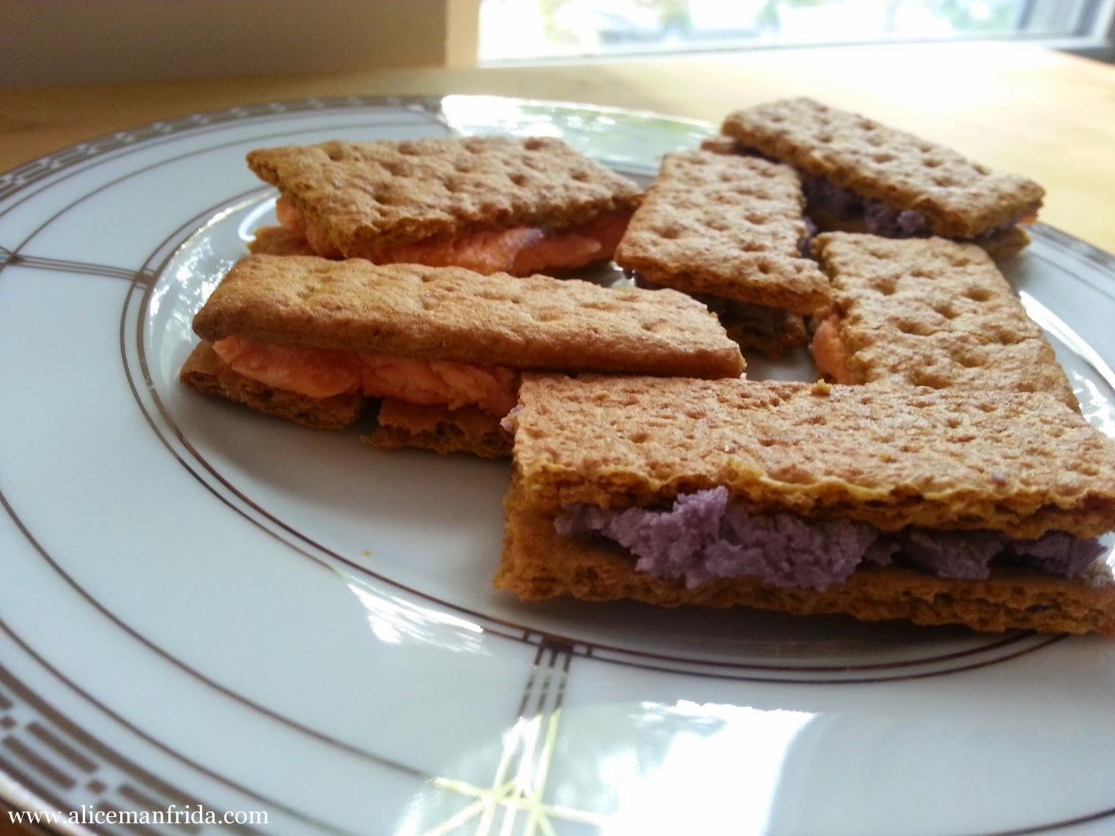 snack, graham crackers, frosting, www.alicemanfrida.com