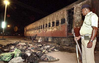 Godhra Sabarmati Express train fire accident