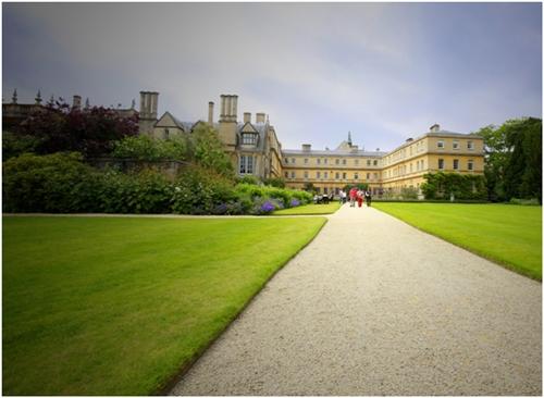 Pemandangan sekitar Universiti Oxford