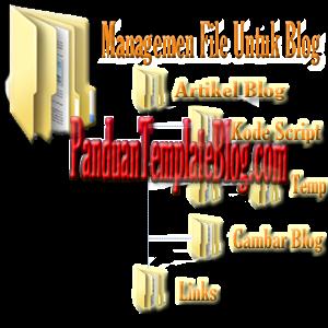 Mengatur Manajemen File Artikel Blog
