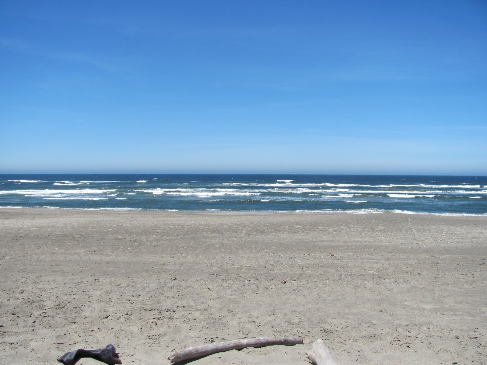 Stopping for lunch at Bullards Beach State Park, Oregon