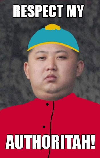 The resemblance between Kim Jong Un and this television star is