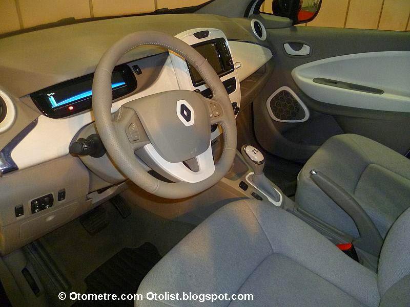 Eelketrikli otomobilin sürücü bölümü böyle görünüyor