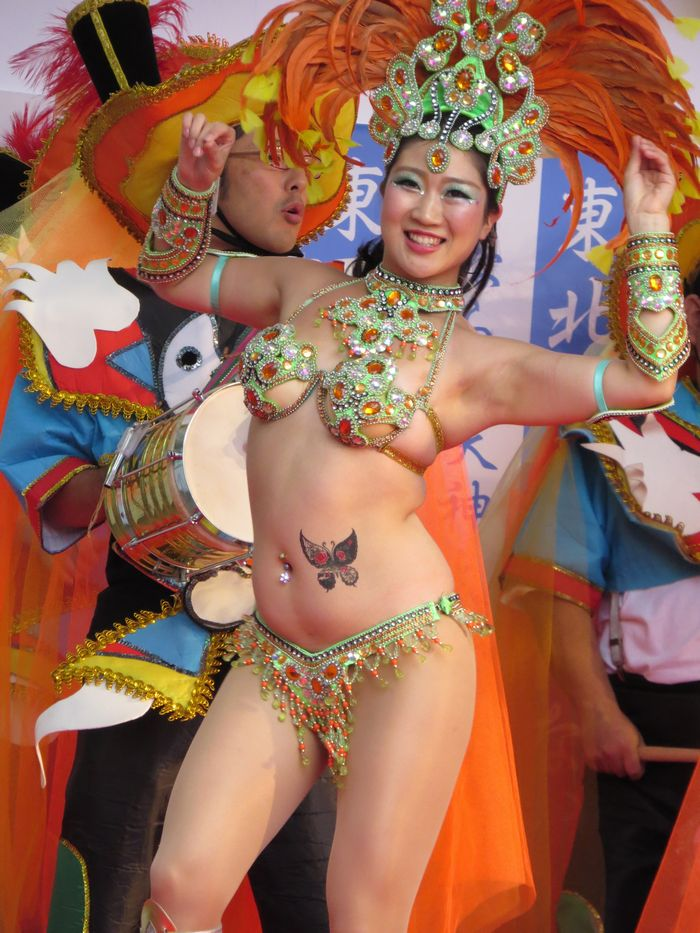 Asakusa Samba Carnival - The largest samba carnival in Japan is a perfect finale to summer in Asakusa.