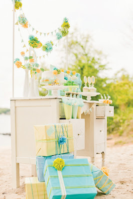 Outdoor baby shower