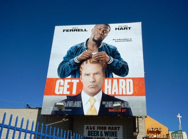 Get Hard movie billboard