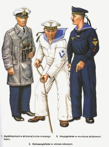 Ww2 uniforme de la marine