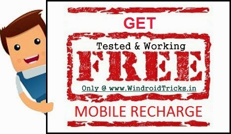 free recharge december 2014