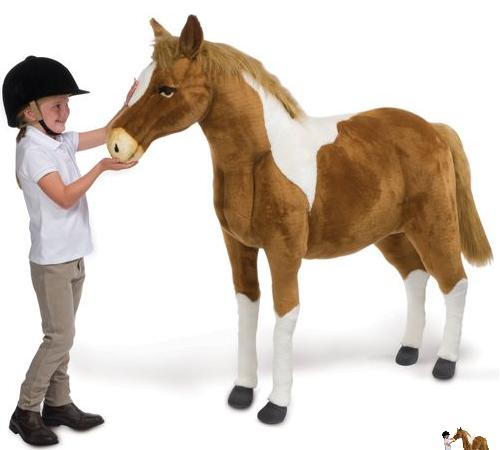 Best Horse Gifts: No Pasture? Check Out These Life Sized Stuffed Ponies!