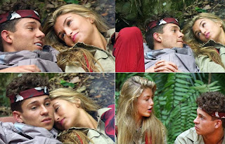 English: Amy Willerton Joey Essex I'm Celebrity