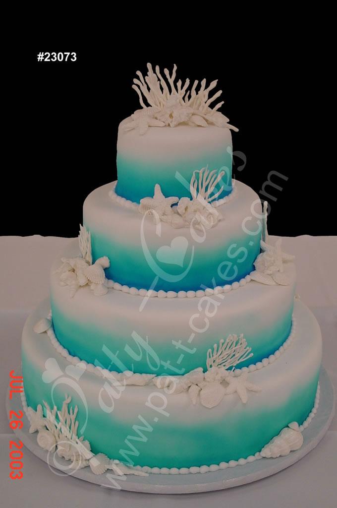 5 Awesome Ideas Beach Wedding Cakes - Wedding Cakes