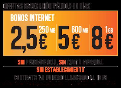 Bonos Jazzcard Internet