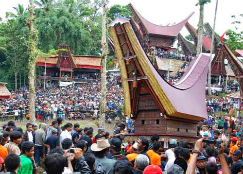Rambu Solok, Upacara Kematian Tana Toraja