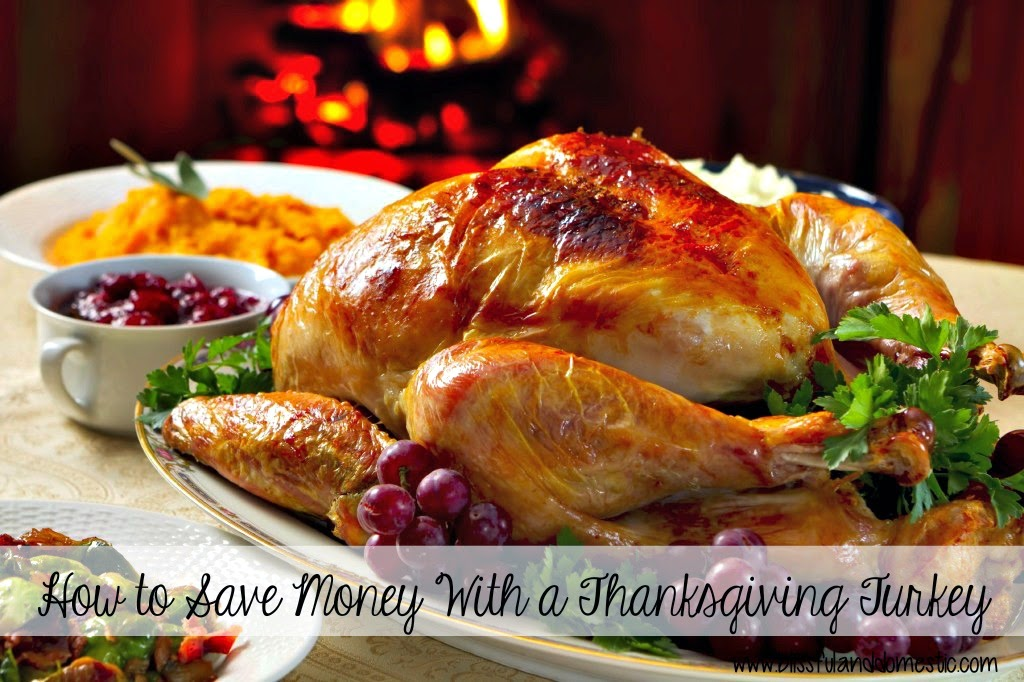 How to Save $$$ With a Thanksgiving Turkey...
