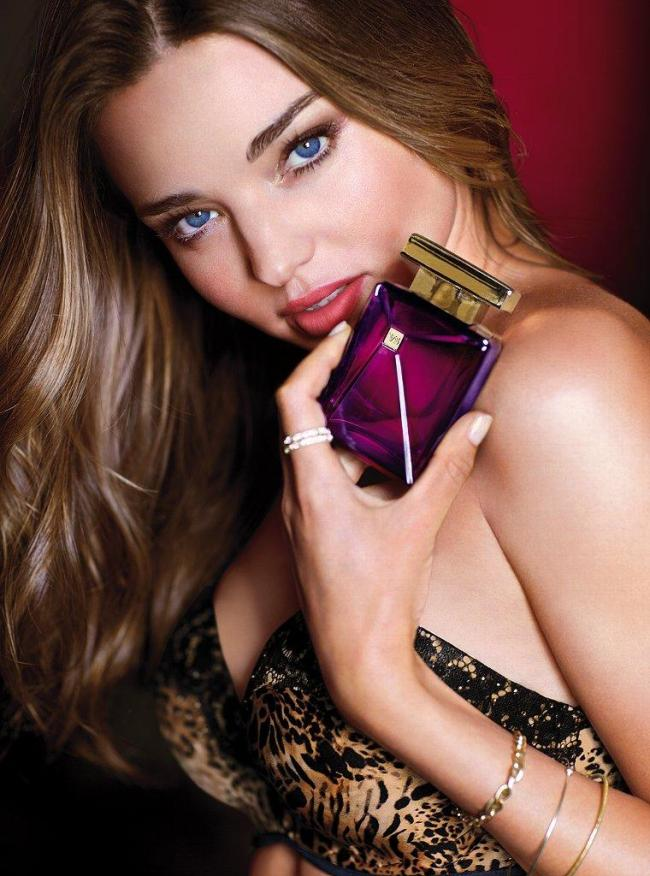 Victoria's Secret Very Sexy Seduction Bra Collection and Seduction Dark Orchid Fragrance featuring Miranda Kerr
