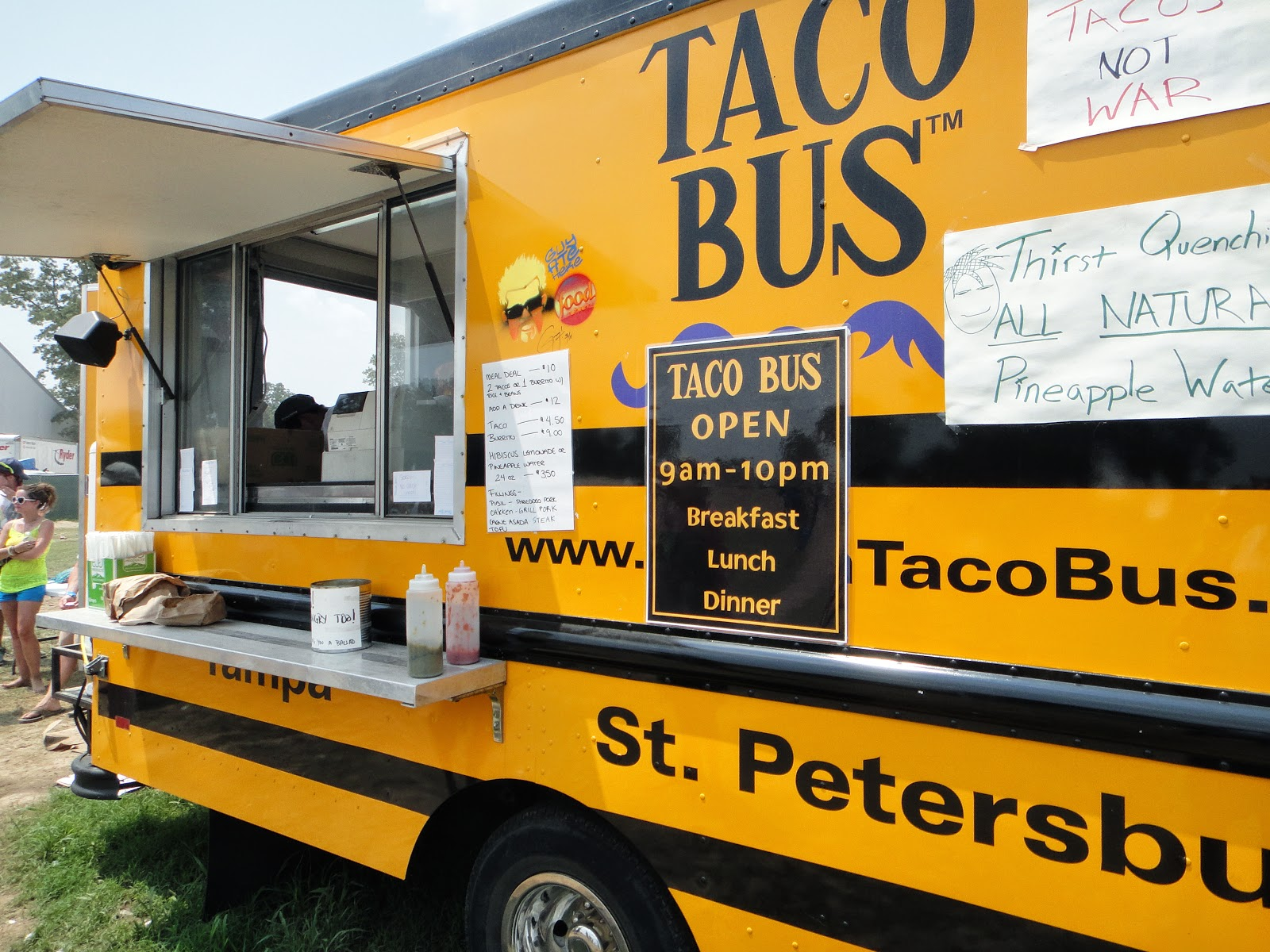 Taco Bus at Bonnaroo 2011