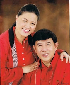 Councilor Rey and Mrs. Lilibeth Padua