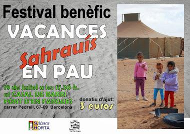 Festival VACANCES SAHRAUÍS EN PAU