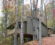 Nantahala Cabins near trout stream