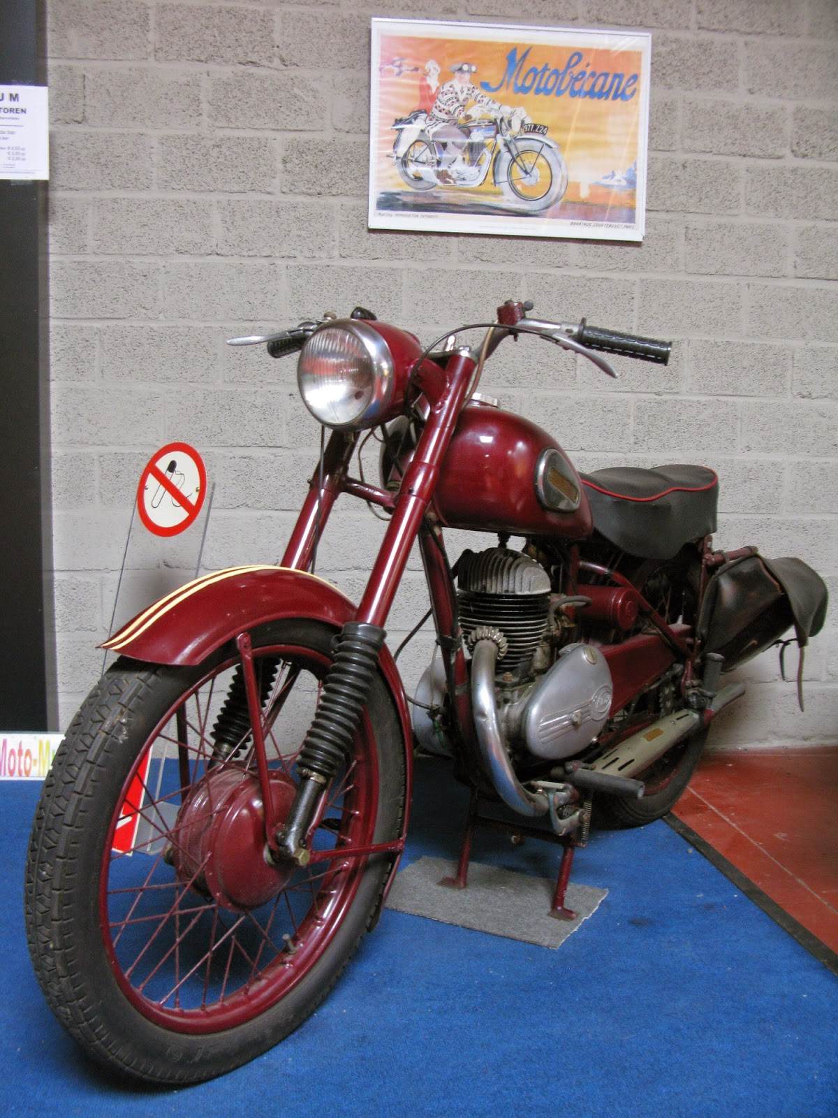 Hulsmann motorcycle with Villiers engine