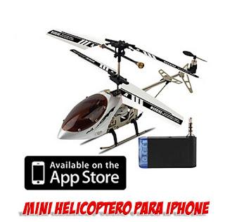helicoptero radio control para iphone